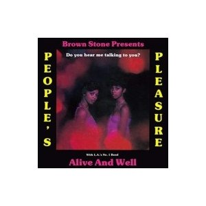 People's Pleasure With L.a.'s No. 1 Band Alive & Well / Do You Hear Me Talking To You?  国内盤 〔CD〕|hmv