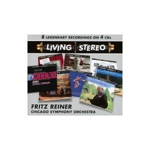Box Set Classical / フリッツ・ライナー&シカゴ交響楽団/レジェンダリー・レコーディングズ(4CD) 輸入盤 〔CD hmv