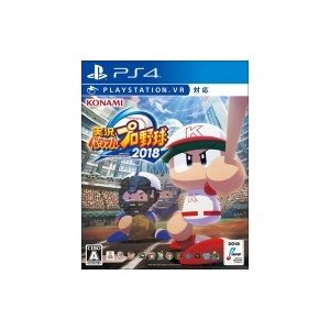 Game Soft (PlayStation 4) / 【PS4】実況パワフルプロ野球2018  〔GAME〕|hmv