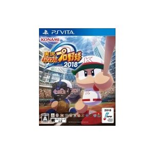 Game Soft (PlayStation Vita) / 【PS Vita】実況パワフルプロ野球2018  〔GAME〕|hmv