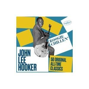 John Lee Hooker ジョンリーフッカー / Boogie Chillen':  50 Original All-time Classics  輸入盤 〔CD〕|hmv