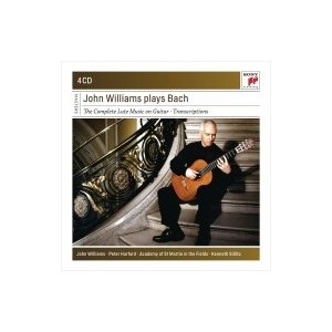 Bach, Johann Sebastian バッハ / ジョン・ウィリアムス・プレイズ・バッハ(4CD) 輸入盤 〔CD〕