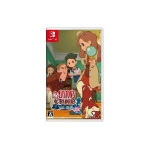 Game Soft (Nintendo Switch) / レイトン ミステリージャーニー カトリーエイルと大富豪の陰謀DX  〔GAME〕 hmv