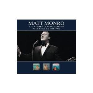 Matt Monro マットモンロー / 3 Classic Albums Plus Singles 1956-1962 輸入盤 〔CD〕|hmv