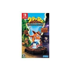 Game Soft (Nintendo Switch) / クラッシュ・バンディクー ブッとび3段もり! ボーナスエディション  〔GAME〕|hmv