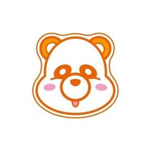 ダイカットタオル(オレンジ) 〔Goods〕
