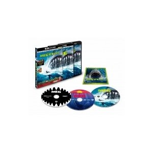 【初回仕様】MEG ザ・モンスター <4K ULTRA HD & 3D & 2Dブルーレイセット>(3枚組/ステッカー付き)  〔BLU-RAY DIS|hmv