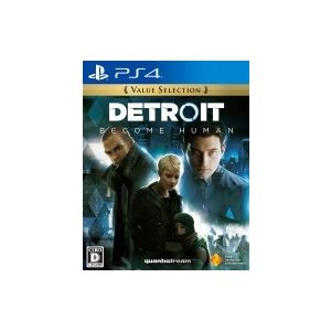Game Soft (PlayStation 4) / Detroit:  Become Human Value Selection  〔GAME〕|hmv