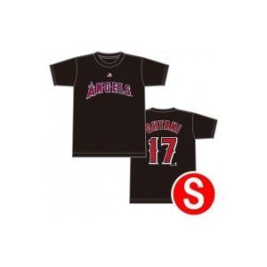 大谷翔平 ネーム&ナンバー Tシャツ BLACK Sサイズ(MM08-LA-0098)  〔OTHER〕|hmv