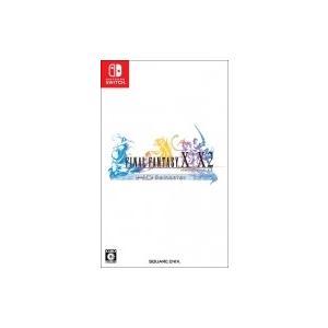 Game Soft (Nintendo Switch) / ファイナルファンタジーX / X-2 HD リマスター  〔GAME〕|hmv