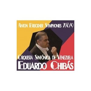 Bruckner ブルックナー / 交響曲第7番、第8番、第9番 エドゥアルド・チバス&ベネズエラ交響楽団(3CD) 国内盤 hmv