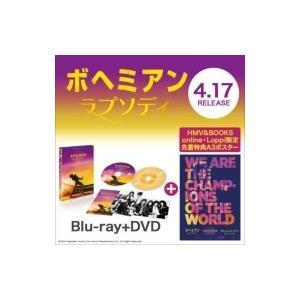 ボヘミアン・ラプソディ 2枚組ブルーレイ&DVD【HMV & BOOKS online・Loppi限定オリジナルポスター付き】  〔BLU-RAY DI|hmv