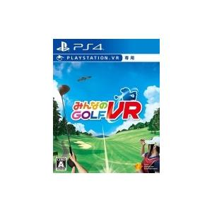 Game Soft (PlayStation 4) / みんなのGOLF VR(※Playstati...