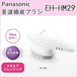 パナソニック 音波頭皮ブラシ EH-HM29 ヘッドスパ 充電式 コードレス 防水タイプ 海外使用OK AC100-240V対応|hmy-select