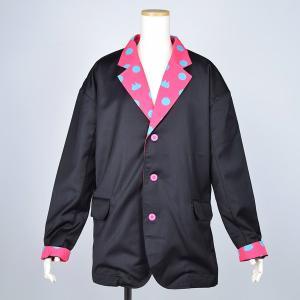 MINT NeKO ジャケット 男女兼用 水玉 ネコ ねこ 猫 ネコドットジャケット hnaoto-gos