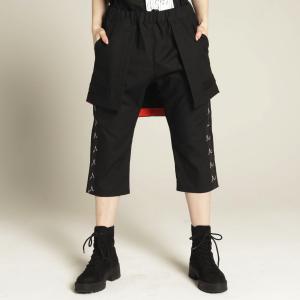 MINT NeKO パンツ 男女兼用 スカート付 ネコ ねこ 猫 Gフューチャーハーフパンツ hnaoto-gos