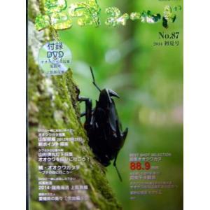 昆虫フィールド 87号【メール便対応のみ送料無料】|hobby-club