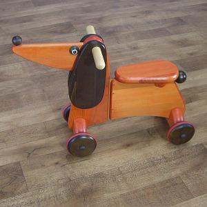 ドイツ製・ドッグ スクーター(おまけ付き) 木馬 HOB-AMP-DF|hobby-life-japan