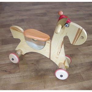 ドイツ製・ホース スクーター(おまけ付き) 木馬 HOB-AMP-HS|hobby-life-japan