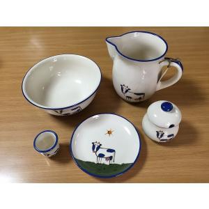 Animal うし食器5点セット(在庫1点限り) HOB-AN-USHI-5SET|hobby-life-japan