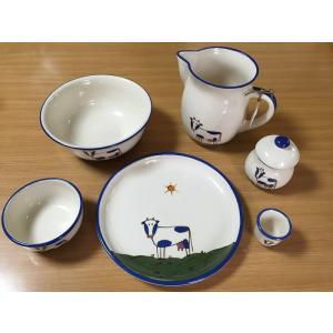 Animal うし食器6点セット(在庫3点限り) HOB-AN-USHI-6SET|hobby-life-japan