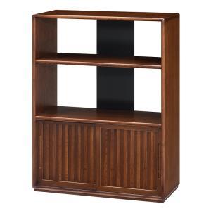 飾り棚 ゆとり(ウォールナット色) KNH-T5604 (和家具)ケンホープ|hobby-life-japan