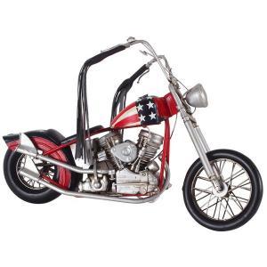 ブリキのおもちゃ B-バイク01(JLM2598-RWB) SIO-B-BAIKU-01|hobby-life-japan