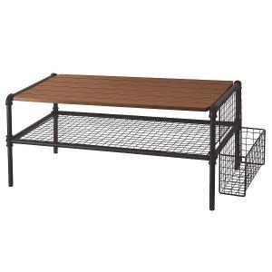 JET BLACK テーブル(幅84×高さ38cm) SIO-JET-BLACK-TABLE hobby-life-japan