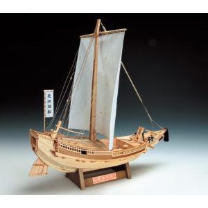 1/72 菱垣廻船  UDJ-F-HIGAKIKAISEN-72 ウッディジョーの木製模型レーザーカット加工|hobby-life-japan