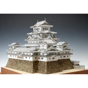 1/150 姫路城(白鷺城) UDJ-S-HIMEJI-150 木製模型レーザーカット加工|hobby-life-japan