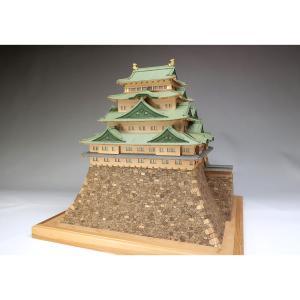 1/150 名古屋城 UDJ-S-NAGOYA-150 木製模型レーザーカット加工|hobby-life-japan