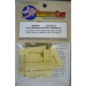 Barracuda Cals BC32012 1/32 P-51D用 コックピット|hobby-road