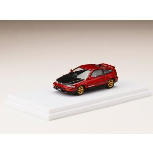 Honda CR-X SiR (EF8) / カスタムバージョン+カーボンボンネット Red Pearl|hobby-road