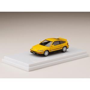 Honda CR-X SiR (EF8) Yellow|hobby-road