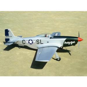 テトラ ノースアメリカン P-51D ムスタング(4C-70/90) 組立キット|hobby-road