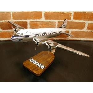 【再入荷しました!!】 1/72  DOUGLAS  DC-4 (ダグラス)  模型飛行機 旅客機 ソリッドモデル 木製模型|hobby-shop-ks