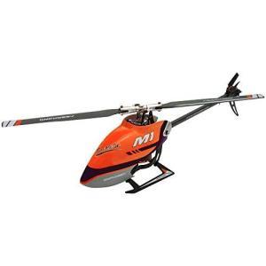 ハイテック OMPホビー M1 Charm Orange[M1 チャームオレンジ]M1-CHOR RCヘリ デュアルブラシレスダイレクト3D ヘリコプター M1 hobby-shoppine