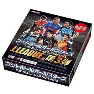 フットボールオールスターズ 2013 J.LEAGUE 第3弾 1BOX(20パック入り) コナミ|hobby-zone-ol