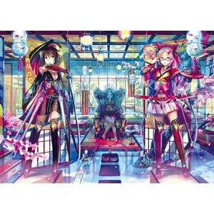 ファンタジックアート 絡繰り姫物語(41-712)アポロ 108ピース|hobby-zone-pz