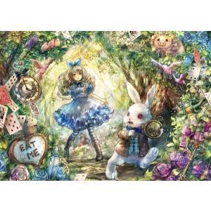 Fantastic Art〜ONINEKO〜 白ウサギとアリス(41-724)アポロ 108ピース|hobby-zone-pz