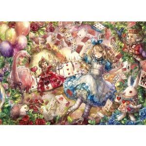 Fantastic Art〜ONINEKO〜 ハートの女王とトランプ(41-727)アポロ 108ピース|hobby-zone-pz