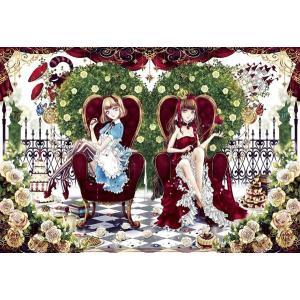 ファンタジックアート アリスと女王(46-517)アポロ 450スモールピース|hobby-zone-pz