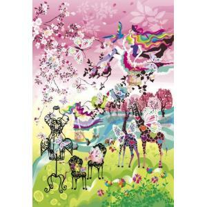 ホラグチカヨ 出会いの春 始まりの季節(48-711) アポロ 300ピース ジグソーパズル|hobby-zone-pz