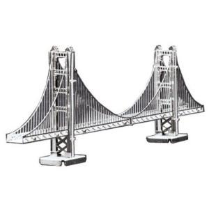 メタリックナノパズル ゴールデンゲートブリッジ(TMN-01) テンヨー ピース ジグソーパズル|hobby-zone-pz