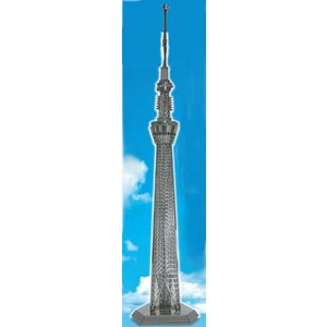 メタリックナノパズル 東京スカイツリー(TMN-30) テンヨー 3Dパズル|hobby-zone-pz