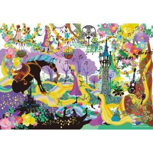 ステンドアート ホラグチカヨ ブリリアントカラーズ(ラプンツェル)(DS-1000-772)1000ピース テンヨー|hobby-zone-pz