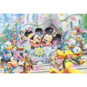 ディズニー ステンドアート フラワーシャワー  ドリーム(DSG-500-387) テンヨー ぎゅっと500ピース ジグソーパズル|hobby-zone-pz