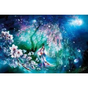 SHU(シュウ)「朧咲夜(光るジグソーパズル)」(1000-651)1000ピース アップルワン ジグソーパズル|hobby-zone-pz