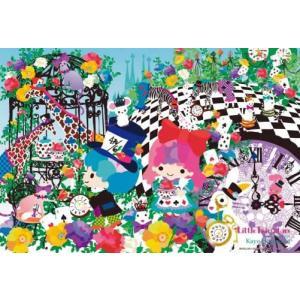ホラグチカヨ コラボレーションアート キキとララの不思議の国のアリス(93-087)ビバリー 300ピース|hobby-zone-pz