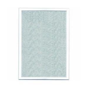 36×49cm マルチ機能 アルミ製 マイパネル(5-D)ホワイト やのまん ジグソーパズルフレーム パネル|hobby-zone-pz
